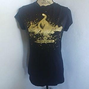 Vtg Baby Phat Gold Logo T Shirt Top